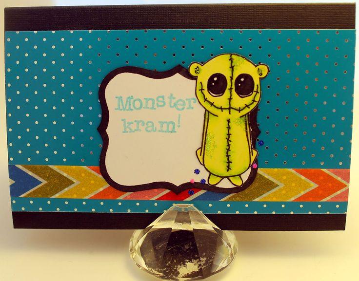 Monster card.