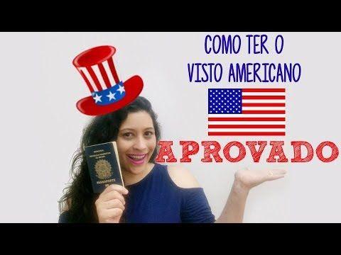 YouTube - Quer viajar para os EUA e ainda não tem o visto? Saiba agora como ter o seu visto americano aprovado!!!