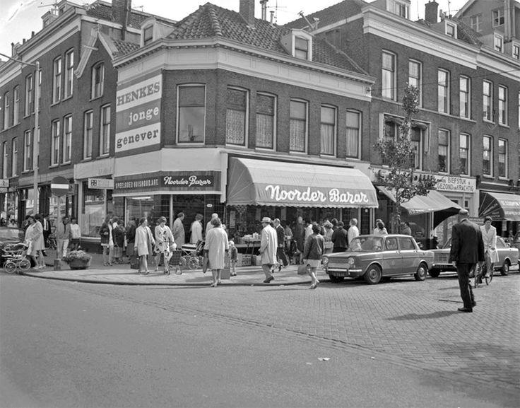 Noordmolenstraat, rond 1970.