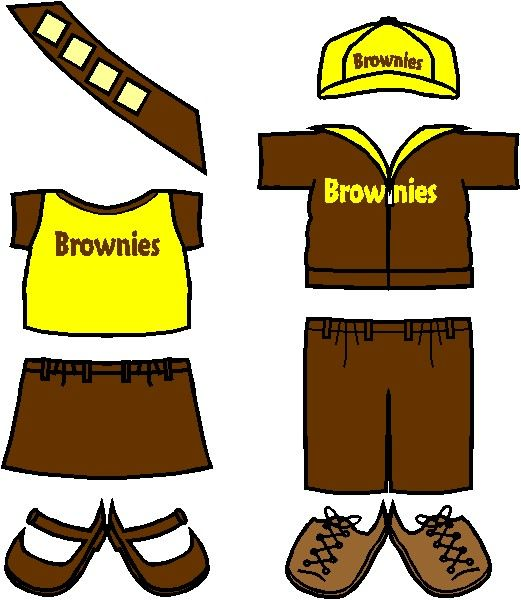 English Girl Guide Brownie Friends