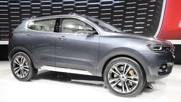 Provided by Motoring Research 2016 Haval Concept B a Chinese SUV
