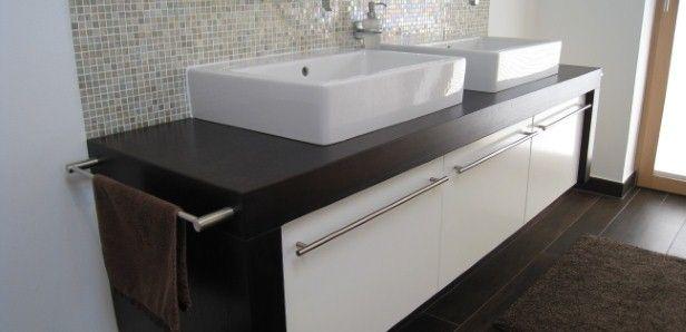Waschtisch Mit Unterschrank 65 Cm Unterbau Bad Waschtischunterbau