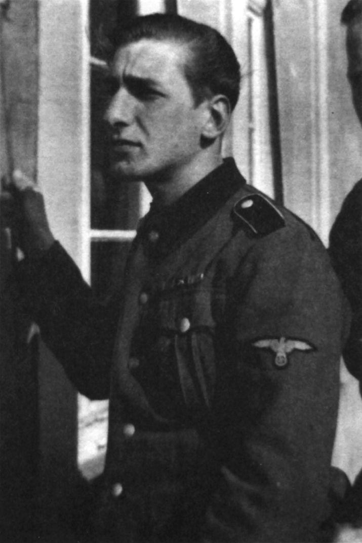 The Swedish volunteer Erik Wallin, born in Stockholm in