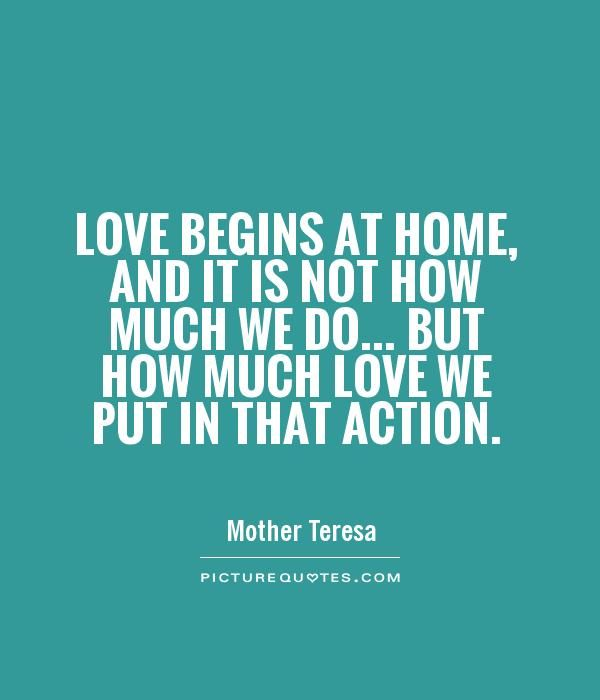 Love In Action Quotes: Best 25+ Mother Teresa Quotes Ideas On Pinterest