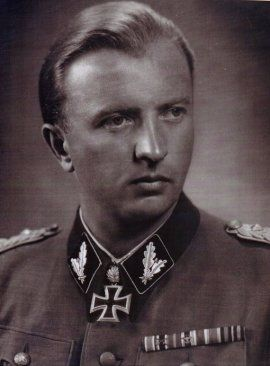 April 28th,   On this date in 1945, Waffen-SS officer Hermann Fegelein was shot in the Reich Chancellery's basement, or else its garden.