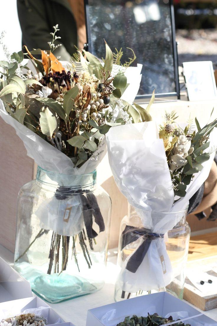 FLEURI (フルリ)| ドライフラワー dryflower リース wreath ブーケ 花束 スワッグ 東別院てづくり朝市 イベント マルシェ