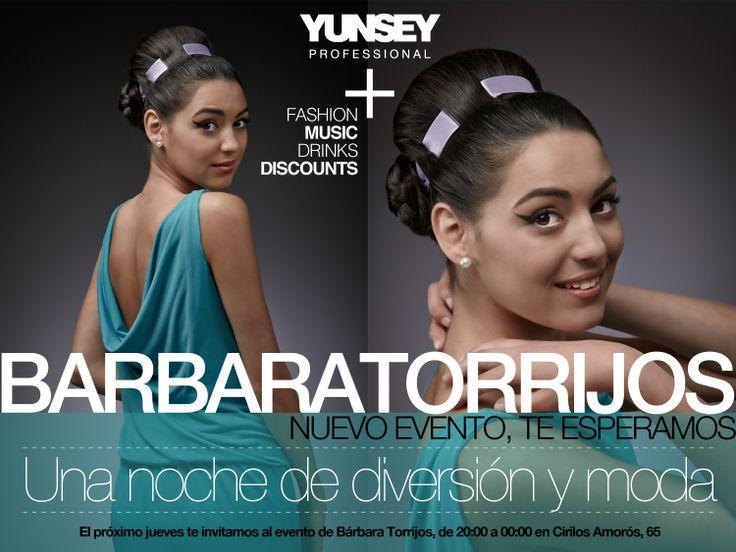Mañana con Bárbara Torrijos en la #Shoppening night!