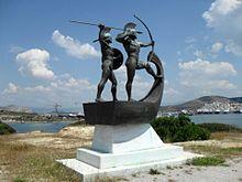 Battle of Salamis - Wikipedia
