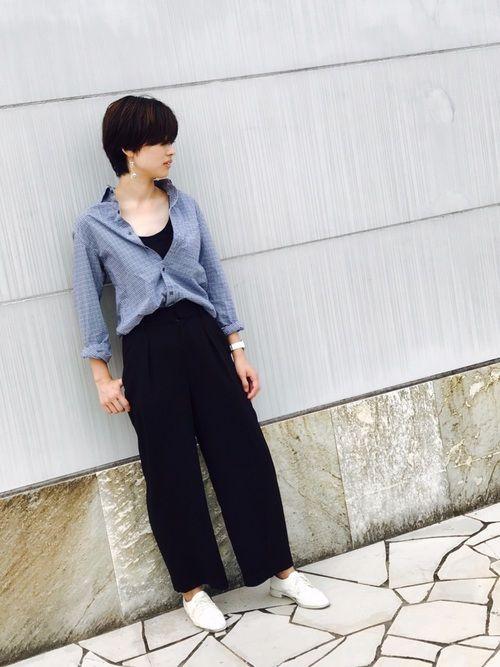 UNIQLOのパンツを使ったO.MEiのコーディネートです。WEARはモデル・俳優・ショップスタッフなどの着こなしをチェックできるファッションコーディネートサイトです。