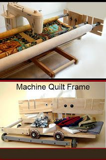58 Best Diy Quilting Frame For Home Sewing Machines Images
