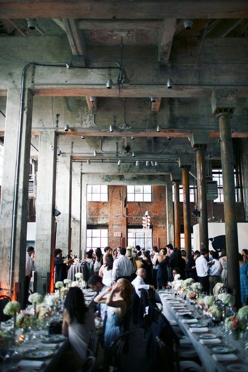 Smack Mellon Gallery Wedding By Hatch Creative Studio