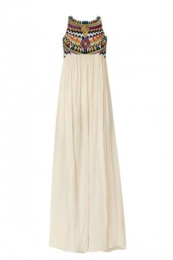 Aztec top maxi dress. Get in my closet!!!