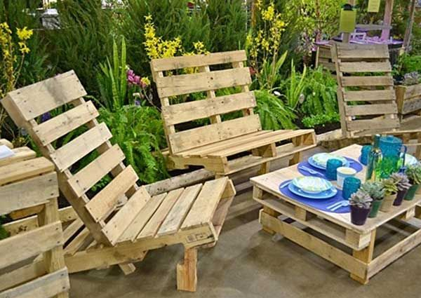 diy pallet furniture making is so easy with rustic wooden pallet you can make pallet table pallet beds pallet couches pallet chairs pallet coffee table
