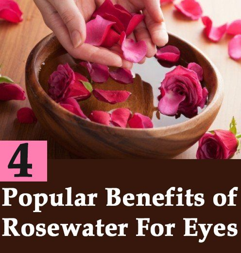 4 Most Popular Benefits of Rosewater For Eyes
