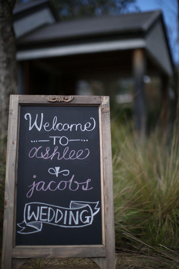 Wedding Welcome Blackboard  makeyourdayweddingstyling.com.au