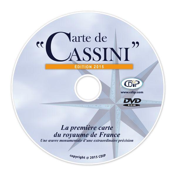 Carte de Cassini, logiciel de cartographie | CDIP Boutique - Logiciel de Généalogie et Scrapbooking