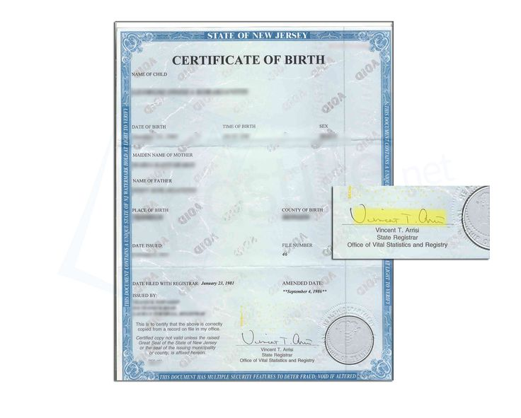 17 best State of New Jersey Sample Apostille images on Pinterest ...