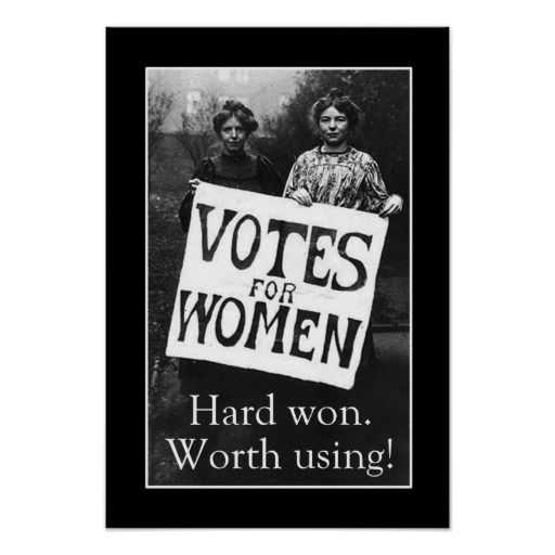 Vintage Women Vote Poster | Zazzle.com