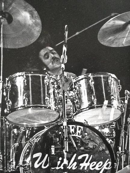 Uriah Heep Stockholm 1974 Lee Kerslake