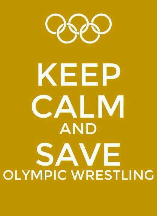 Save Wrestling! One of the founding sports of the original Olympics, and (in my opinion) the best sport in the Olympics. It shouldn't be removed.