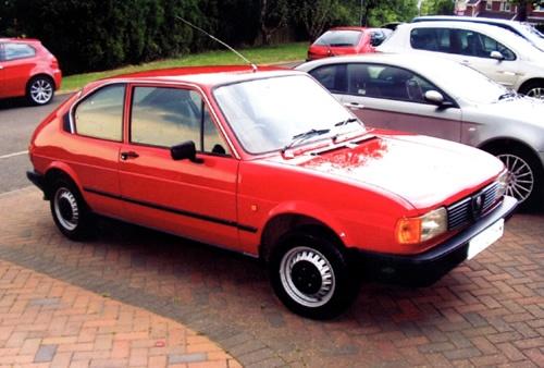 The Alfasud, my first Alfa Romeo!