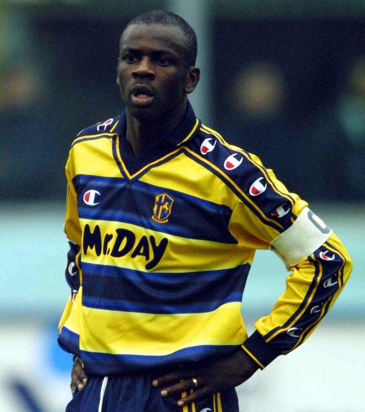 Lilian Thuram del FC Parma (1996-2001).