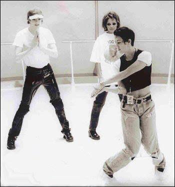 Michael Jackson & Janet Jackson | rehearsals for Scream video