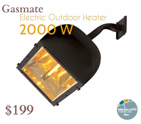 Gasmate Electric Outdoor Heater