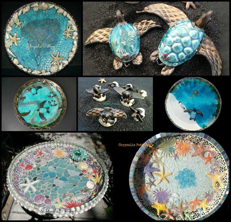 Beach Pottery Ideas