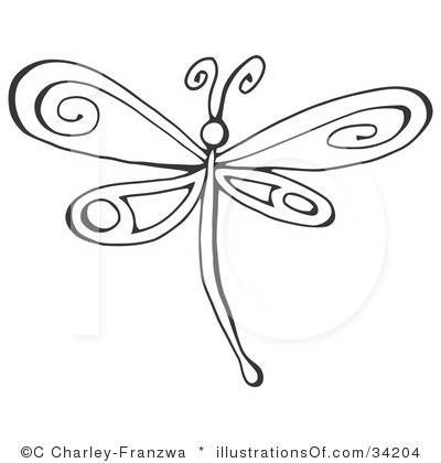 Dragonfly Clipart Vector
