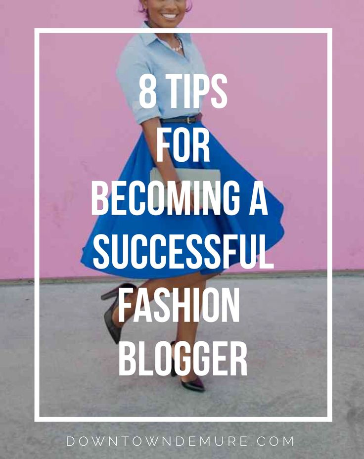 Downtown Demure // Modest Fashion Blog // How to become a successful fashion blogger.