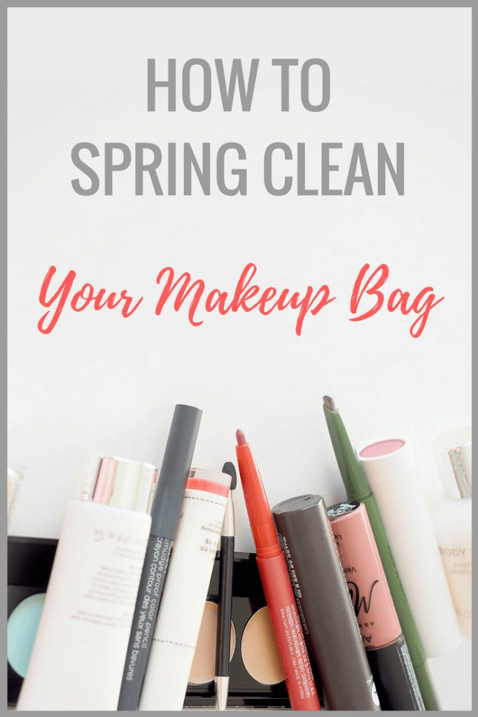 How to Spring Clean Your Makeup Stash In 5 Easy Steps https://thepatranilaproject.com/how-to-spring-clean-makeup-3/