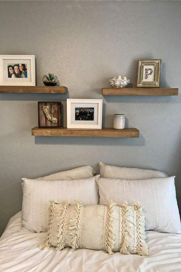 Wonderful Bedroom Shelves Design Ideas For Your Home Page 12 Of 38 Womensays Com Women Blog In 2021 Bedroom Wall Decor Above Bed Above Bed Decor Decor Above Bed