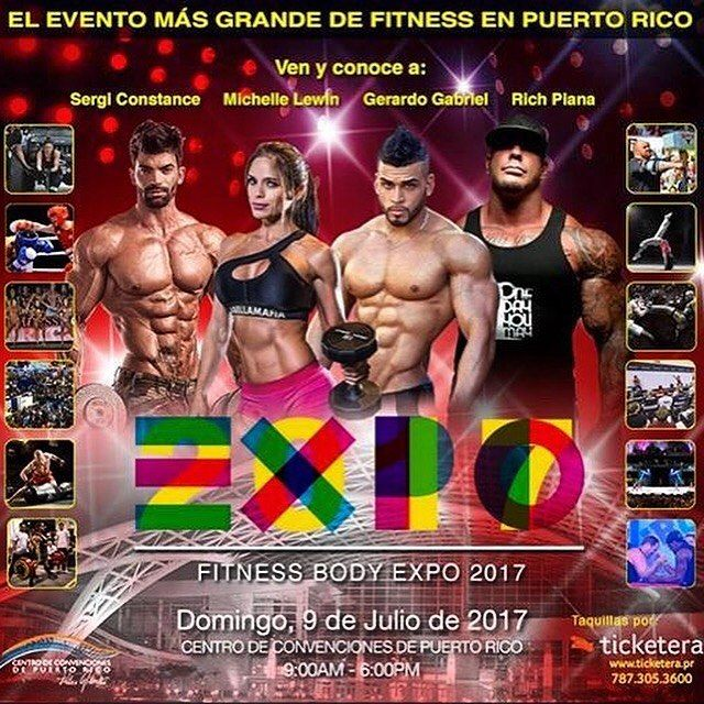 @FitnessBodyExpo • El evento mas grande del Fitness... Interesados en #Booths favor enviar mensaje en: www.facebook.com/FitnessBodyExpo  #puertorico #gym #BikiniWellness #bodybuilding #MichelleLewin #gymflow #instafit #RichPiana #ifbb #GerardoGabriel #juliangil #fashion #celebrity #hollywood #f4f #nataliarivera #elmoluscodelamega #competition #Latino #Latina #magazine #followme #npc #boricua #npccompetition #fitnessexpo #SergiConstance #fitness @hectoralbizu @fitnessbodymagazine…