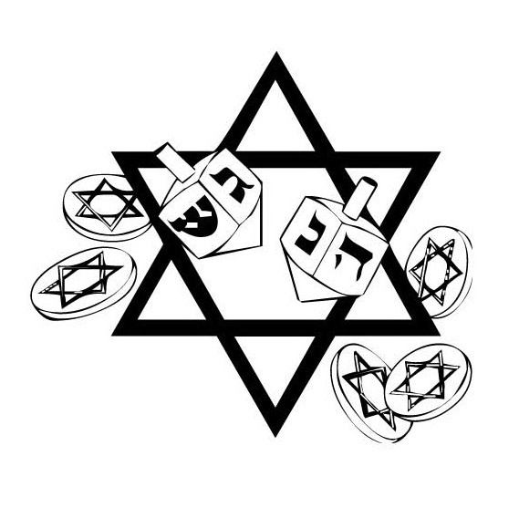 Hanukkah star of david coloring page 01 chanukah or for Star of david coloring page