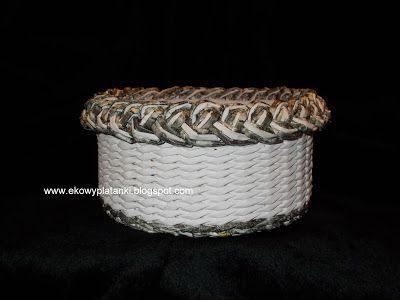 EkoWyplatanki: Biały z szarym warkoczem