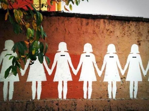 "No More Violence On Women da IL RAMO D'ORO ""Street Art"" https://ilramodoro-katyasanna.blogspot.it/2013/11/street-art.html"