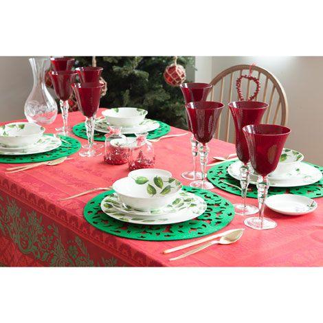 Tovaglietta Rotonda Feltro - Sala da Pranzo - Collection - Natale | Zara Home Italia