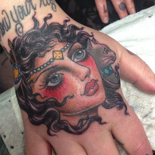 Mary Joy as featured on Swallows  Daggers. www.swallowsndaggers.net #tattoo #tattoos #girl