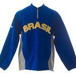 Majestic pour homme Brasil World Baseball Classic coupe-vent SZ Extra Large Bleu: Frais de base Manches amovibles Cet article Majestic pour…