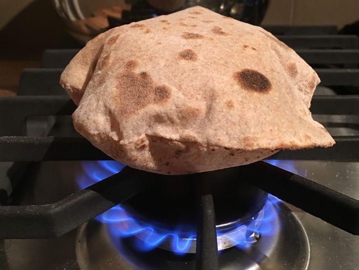 Chapati,+paine+indiana+integrala