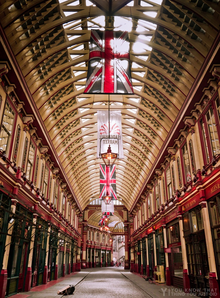 Leadenhall Market - Malls are nothing new!