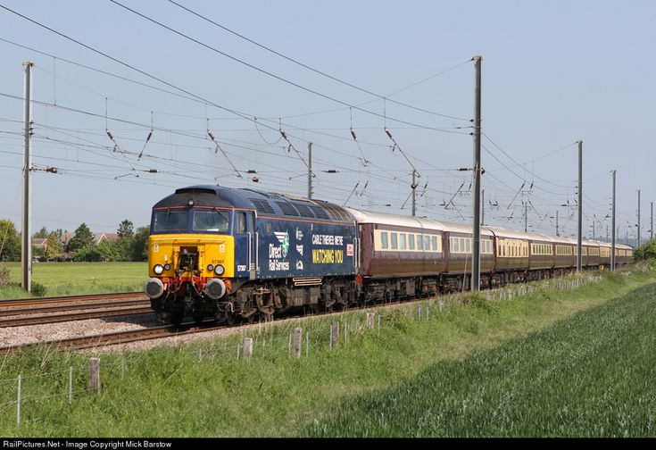 RailPictures.Net Photo: 57307 Direct Rail Services (DRS) Class 57 diesel electric at Biggleswade, United Kingdom by Mick Barstow