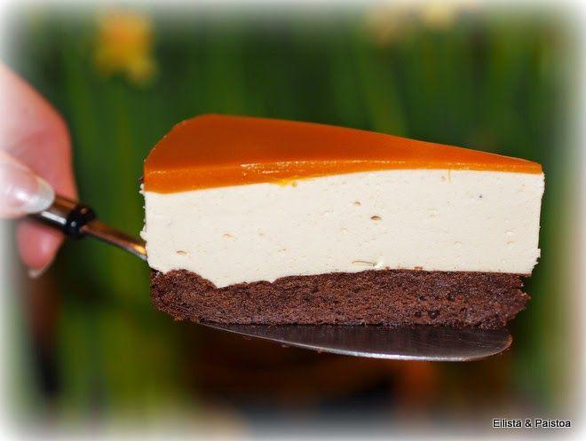 Tyrni-juustokakku gluteeniton