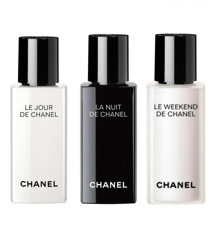 Chanel réinvente le soin avec une gamme simplifiée, épurée: LE JOUR, LA NUIT, LE WEEKEND