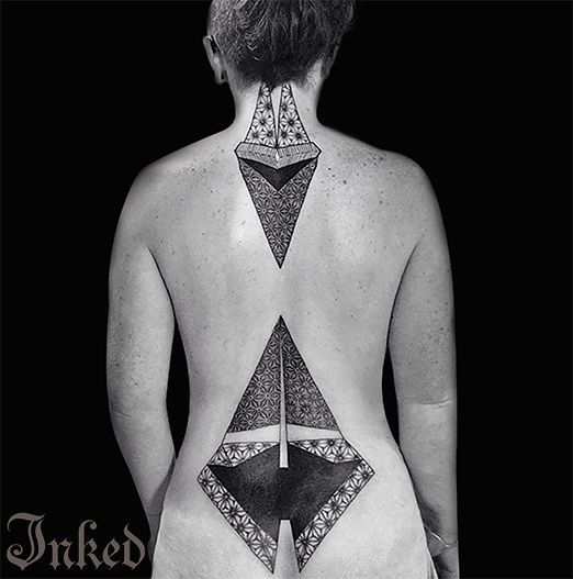 2017 trend Geometric Tattoo - Sneak Preview of the New Freshly Inked w/ Danny Lepore - Inked Magazine