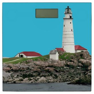 Lighthouse Nautical Bath Decor