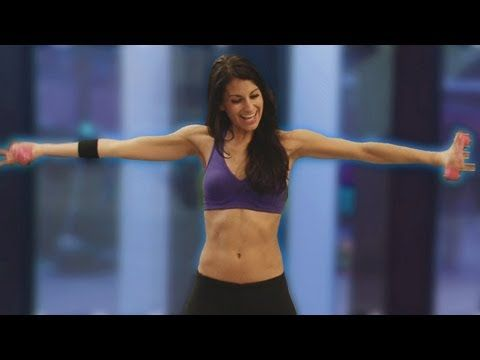 arm slimming workout video. can be done without weights, just increase the repetitions so it burns