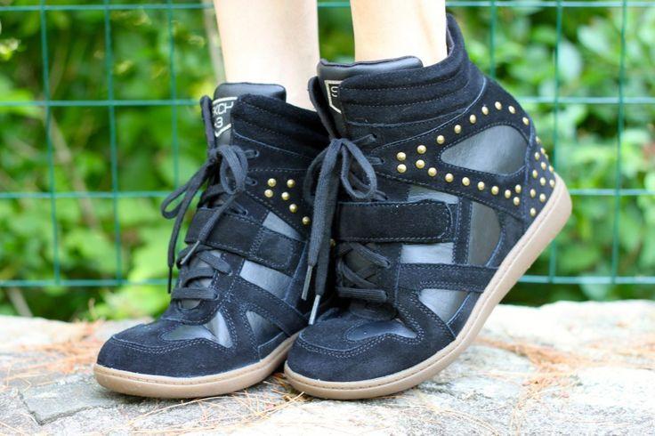 skechers wedge sneakers