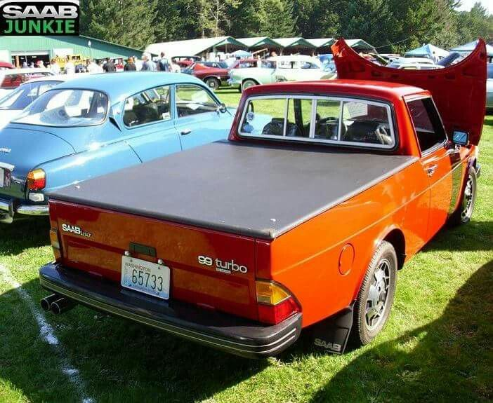 Saab 900 classic pick-up